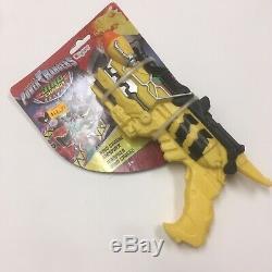 Power Rangers Dino Charge Morpher Yellow Plastic Cosplay Gun Costume Prop new