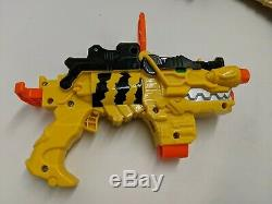 Power Rangers Dino Charge Yellow Morpher Foam Dart Gun/Blaster Cosplay