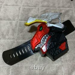 Power Rangers Dino Fury Ryusoulger Toy Weapon Set Collection BANDAI Cosplay USED