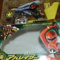 Power Rangers Dino Sentai Abaranger Thunder Saber Aba Laser Morpher Toy BANDAI