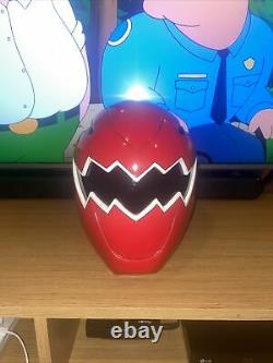 Power Rangers Dino Thunder Red Ranger Helmet Cosplay Custome Made By Wild