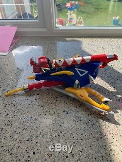 Power Rangers Dino Thunder Z Rex Blaster Weapon Glove Toy Cosplay Rare