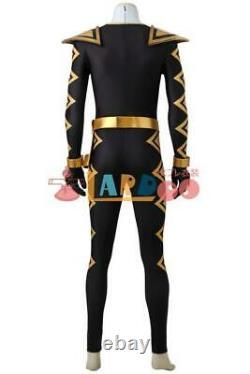 Power Rangers Dyno Thunder Black Ranger (Abare Black) Cosplay Costume