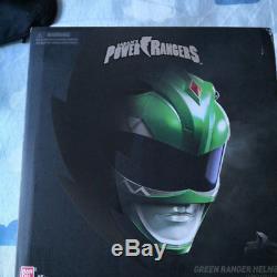 Power Rangers Green Ranger 11 Cosplay Helmet Collectibles Model Wearable Props