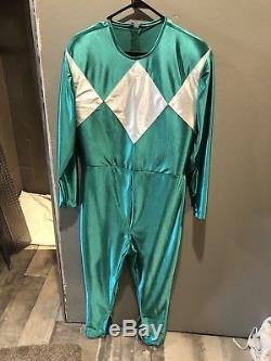 Power Rangers Green Ranger Costume Suit Halu Used Cosplay
