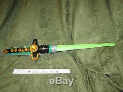 Power Rangers Green Ranger Dragon Dagger Dragonzord Sword Morpher Cosplay 2009