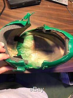 Power Rangers Green Ranger Helmet Cosplay