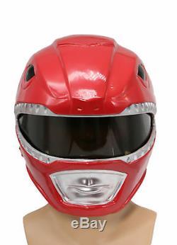 Power Rangers Helmet Deluxe Halloween Cosplay Costume