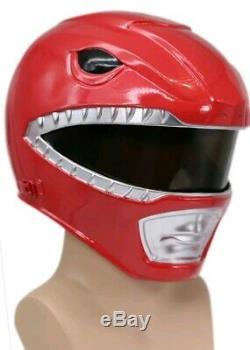 Power Rangers Helmet Deluxe Halloween Cosplay Costume Carnival Prop Xcoser