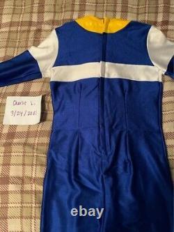 Power Rangers In Space/Denji Sentai Megaranger Blue Ranger Cosplay Suit by Rav
