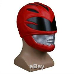 Power Rangers Jason Li siket The Scarlet Tunic Cosplay Prop Halloween Helmet Mak