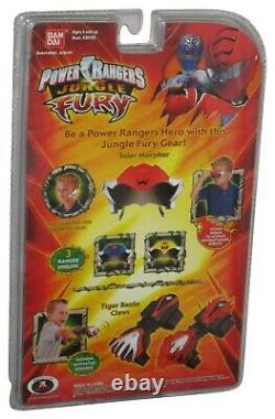 Power Rangers Jungle Fury Solar Morpher (2007) Bandai Toy Cosplay Set