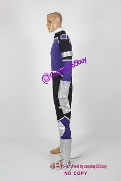 Power Rangers Jungle Fury Violet Wolf Ranger Cosplay Costume