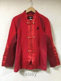 Power Rangers Jungle fury GEKIRANGER 2007 Costume Cosplay Red Size Adult L used