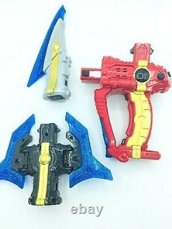 Power Rangers KYURANGER DX KYU THE WEAPON SEIZA BLASTER KYUTAMA SUN MOON