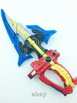 Power Rangers KYURANGER DX KYU THE WEAPON SEIZA BLASTER KYUTAMA SUN MOON F/S