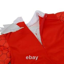 Power Rangers Kids Red Ranger Dino Charge Toddler Classic Muscle Cosplay Costume