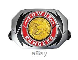 Power Rangers Legacy Mighty Morphin Morpher Coin Replica Toy MMPR Cosplay LED