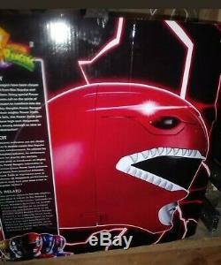 Power Rangers Legacy Red Ranger Helmet 11 Full Scale Cosplay