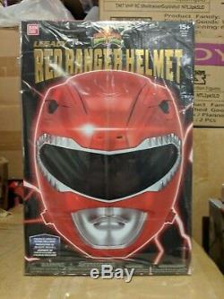 Power Rangers Legacy Red Ranger Helmet 11 Full Scale Cosplay Brand New
