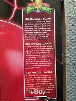 Power Rangers Legacy Red Ranger Helmet 11 Full Scale Cosplay Pre-owned Display