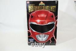 Power Rangers Legacy Red Ranger Helmet 11 Scale Cosplay Mighty Morphin MMPR