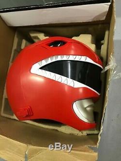 Power Rangers Legacy Red Ranger Helmet Cosplay Action Figure Sealed 1994