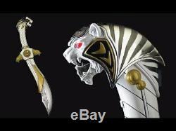 Power Rangers Legacy WHITE RANGER'S SABA SWORD REPLICA COSPLAY Bandai MMPR