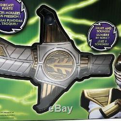 Power Rangers Legacy WHITE RANGER'S SABA SWORD REPLICA COSPLAY Bandai MMPR Rare