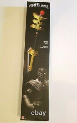 Power Rangers Legacy Zeo GOLDEN POWER STAFF PROP REPLICA COSPLAY Bandai