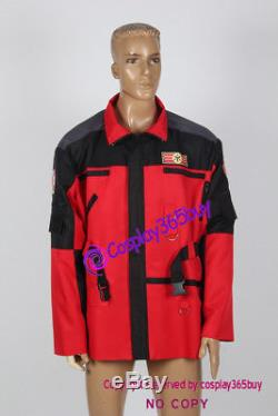 Power Rangers Lightspeed Rescue Cospaly Carter Grayson Jacket Cosplay Costume