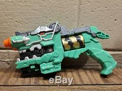 Power Rangers Limited Edition Deluxe Green Dino Charge Morpher Gun cosplay