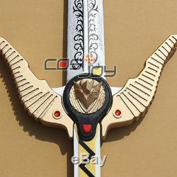 Power Rangers Lost Galaxy Quasar Saber condor-emblem PVC Cosplay Prop