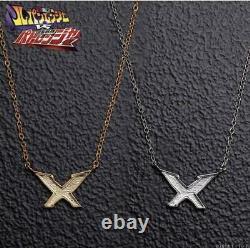Power Rangers Lupinranger VS Patoranger X Silver Necklace Cosplay BANDAI Japan