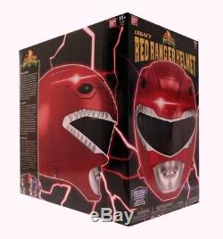 Power Rangers Mighty Morphin Legacy Collection Red Ranger Helmet Replica Cosplay