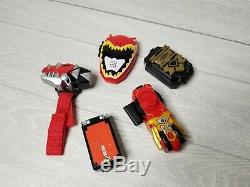 Power Rangers Morpher Lot Ninja Storm Dino Thunder Dino Charge Mixed Cosplay Q