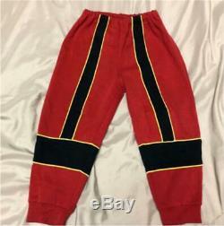 Power Rangers Mystic Force 2006 Costume Cosplay MAJIRANGER RED for Kids 100cm