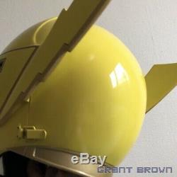 Power Rangers Mystic Force Legendary Yellow Ranger Magiranger Helmet Cosplay