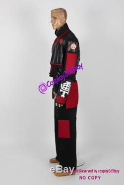 Power Rangers Ninja Storm Crimson Thunder Ranger Cosplay Costume incl. Pvc coins