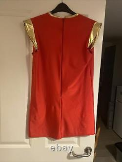 Power Rangers Ninja Strom Red Ranger Suit Frmale Cosplay Custome Fan Made Sentai