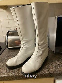 Power Rangers Real Leather Cosplay Boots No Helmet Suit