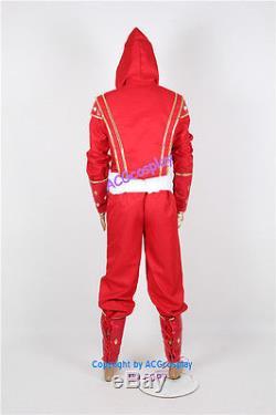 Power Rangers Red Ninjetti Ninja Ranger Cosplay Costume red ranger costume