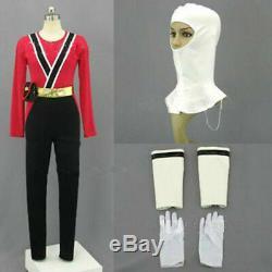 Power Rangers SAMURAI SHINKENGER Shinken RED Ranger Cosplay Costume