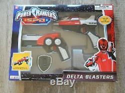 Power Rangers SPD Delta Blasters 2004 Bandai Cosplay MMPR