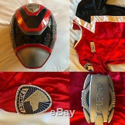 Power Rangers SPD Red Ranger Helmet & Suit Cosplay
