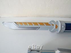 Power Rangers Samurai Gold Ranger Mega Light Barracuda Blade Cosplay Role Play