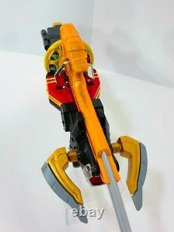 Power Rangers Samurai Morpher Shinkenger Bullzooka Spin Sword Battle Gear Lot