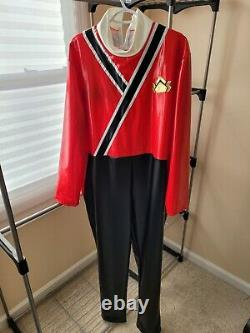 Power Rangers Samurai Red Ranger Cosplay Costume