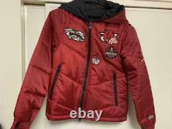 Power Rangers Samurai Shinkenger Red Costume Jacket Cosplay Women Free Size