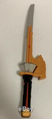 Power Rangers Shinkenger Samurai Morpher Spin Sword Shinkenmaru Bandai Cosplay
